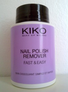 Nail polish remover fast&easy