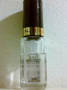 2 in 1 protect top coat l'Oreal Paris