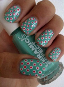 back to school nail art #2