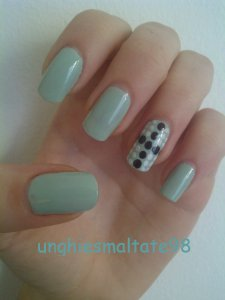 nail art con il top coat
