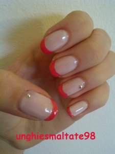 pink french manicure 2