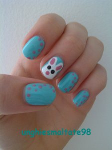 nail art for easter 2