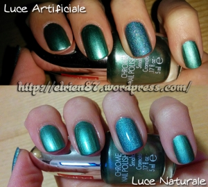 Nail Art Hemlock Chrome Holographic