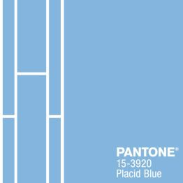 pantone placid blue