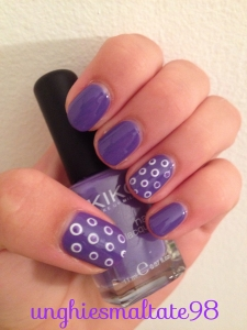 nail art radiant orchid