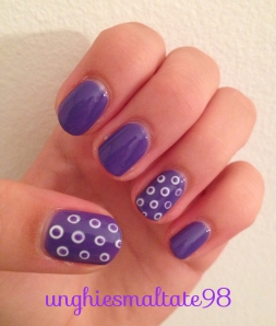 nail at radiant orchid