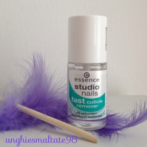 fast cuticle remover Essence