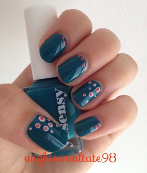 back to school nail art #1