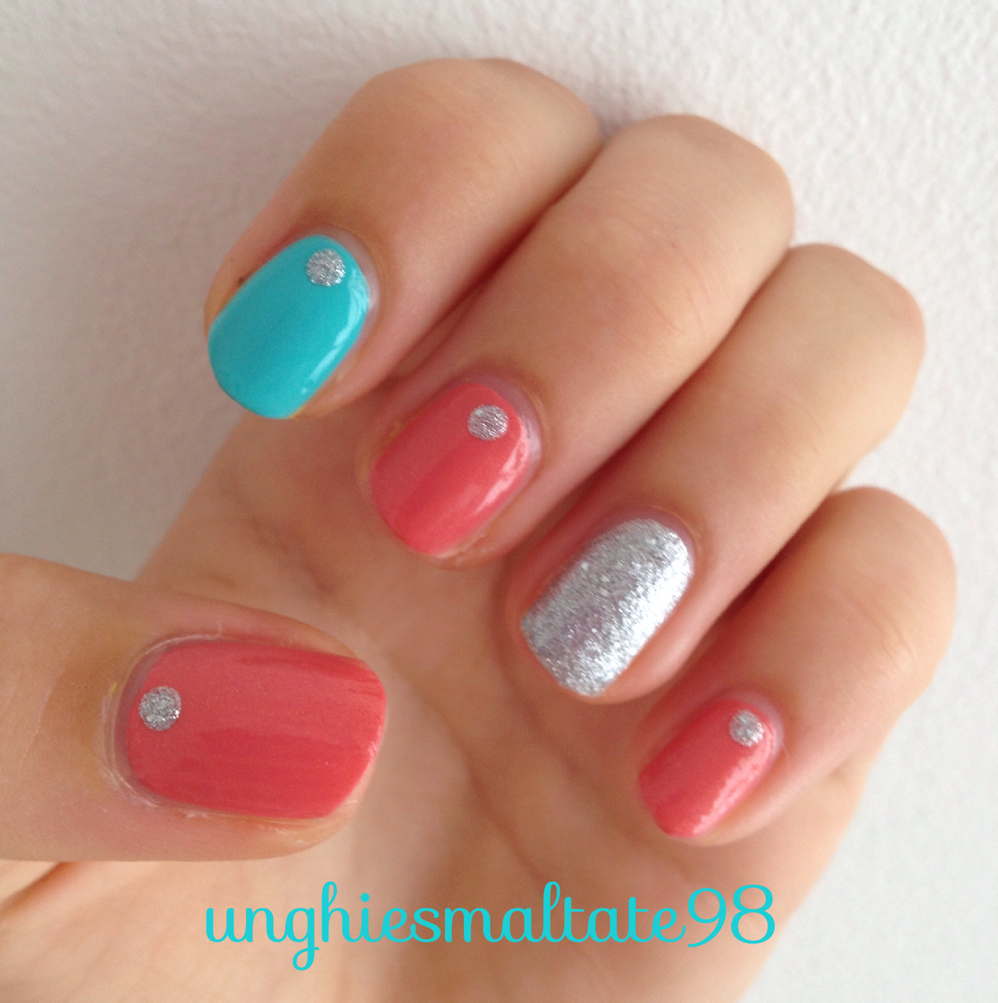 Nail Art For Short Nails Plain: Simple Nail Art For Short Nails