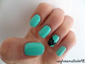 Good luck nail art