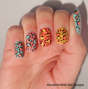 Swap Nail Art feat. WonderfulWolf