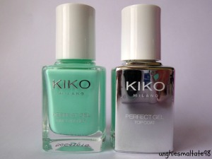 First impressions: Perfect Gel Duo 677 Milk Mint - Kiko