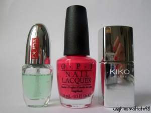 Let's try it: Charged Up Cherry OPI by Perfume's Club