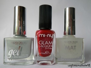 Mini shopping time for nails!