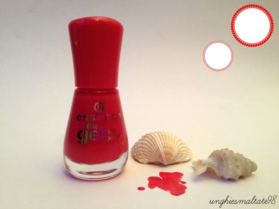 The Red Gel pedicure