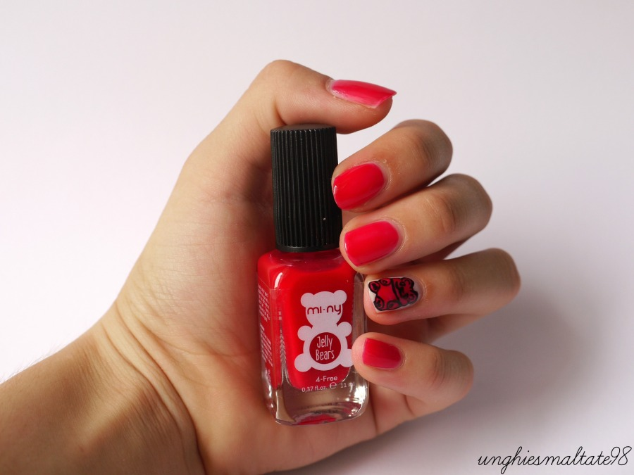 Jelly Bear nail art - Official Blogger MI-NY