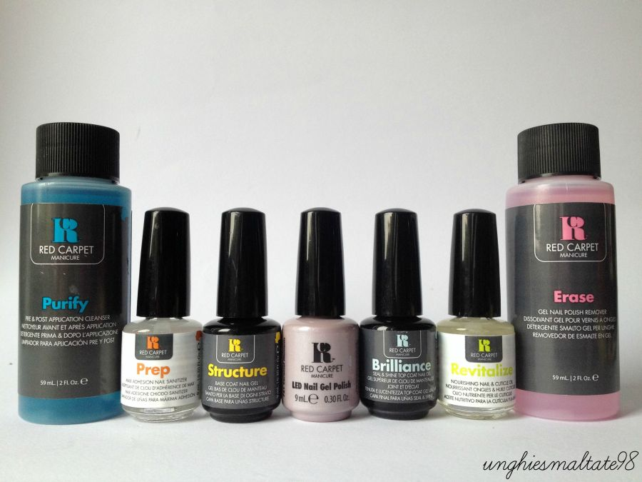 Let's try it: Gel Polish Pro Kit by Red Carpet Manicure