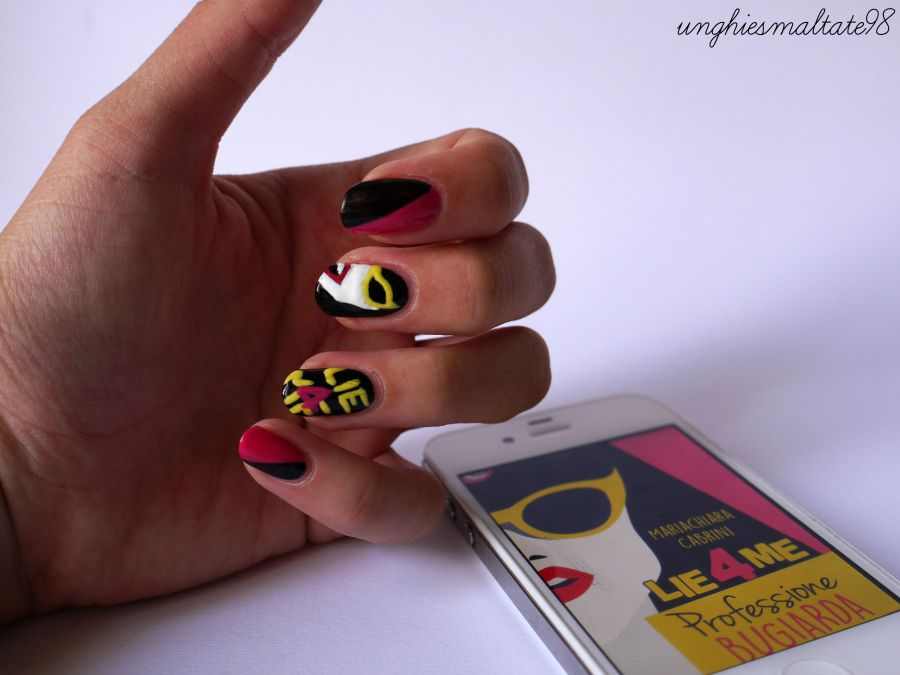 Lie4Me nail art: the winner!!
