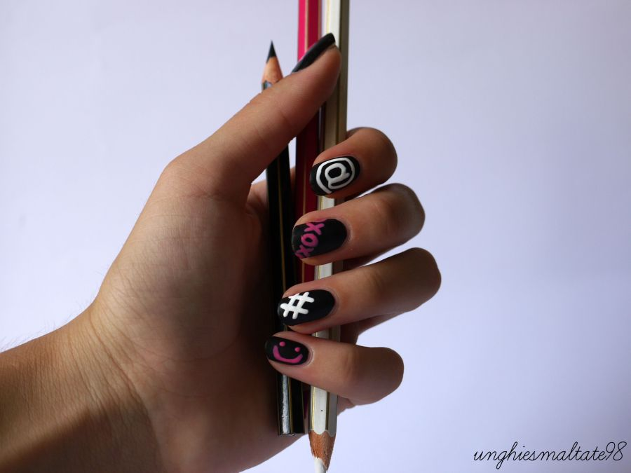 Back to school nail art feat. Silvia Nails