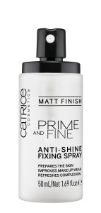 Catr. Prime and Fine Anti Shine Fixing Spray_open